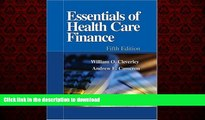 liberty books  Essentials of Health Care Finance, Fifth Edition (Essentials of Health Care Finance