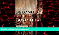 Best book  Beyond the Boycott: Labor Rights, Human Rights, and Transnational Activism (American