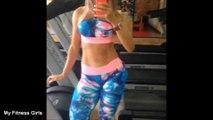 LORENA ALVES - Fitness Model  Butt Exercises for Women for Firm Glutes @ Brazil