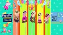 Peppa Pig Vines | Peppa Pig Lollipop Batman Finger Family Nursery Rhymes Lyrics