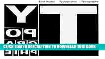 Ebook Typographie: A Manual of Design Free Read