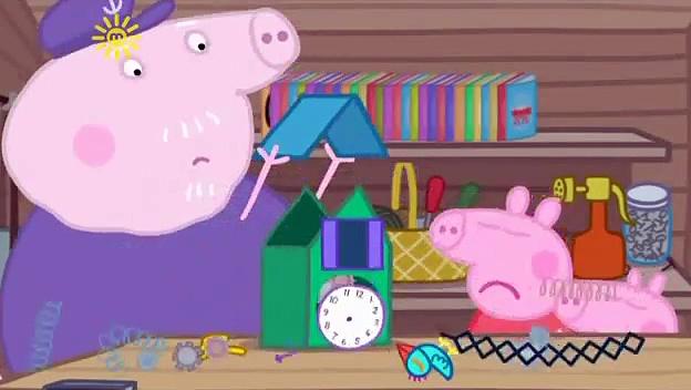 Peppa Pig s03e31 Grandpa Pigs Computer