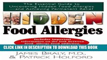 Best Seller Hidden Food Allergies: The Essential Guide to Uncovering Hidden Food Allergies-and