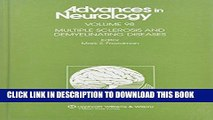 Ebook Multiple Sclerosis and Demyelinating Diseases (Advances in Neurology) Free Read