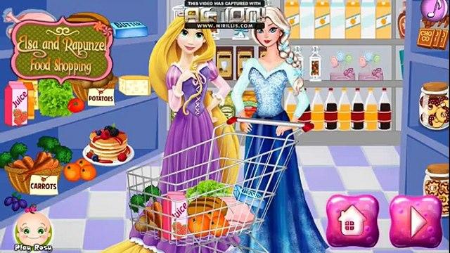 Disney Frozen Games - Elsa and Rapunzel Shopping – Best Disney Princess Games For Girls And Kids