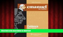 Buy book  Emanuel Law Outlines: Evidence (The Emanuel Law Outlines) online for ipad