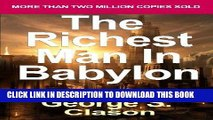 [FREE] EBOOK The Richest Man in Babylon: Now Revised and Updated for the 21st Century (Paperback)