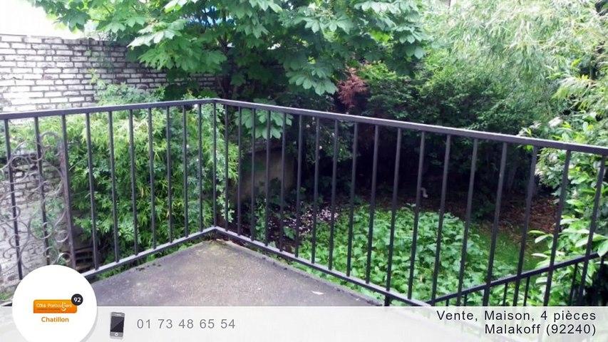 A vendre - Maison/villa - Malakoff (92240) - 4 pièces - 70m²