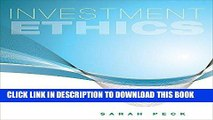 [FREE] EBOOK Investment Ethics ONLINE COLLECTION