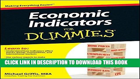 [FREE] EBOOK Economic Indicators For Dummies BEST COLLECTION