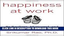 [READ] EBOOK Happiness at Work: Be Resilient, Motivated, and Successful - No Matter What BEST
