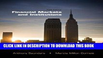 [READ] EBOOK Financial Markets and Institutions (The McGraw-Hill/Irwin Series in Finance,
