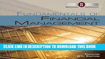 Read Now Bundle: Fundamentals of Financial Management, Concise Edition (with Thomson ONE -