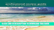 Read Now Professional Review Guide for the RHIA and RHIT Examinations, 2016 Edition (Book Only)
