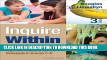 [READ] EBOOK Inquire Within: Implementing Inquiry- and Argument-Based Science Standards in Grades