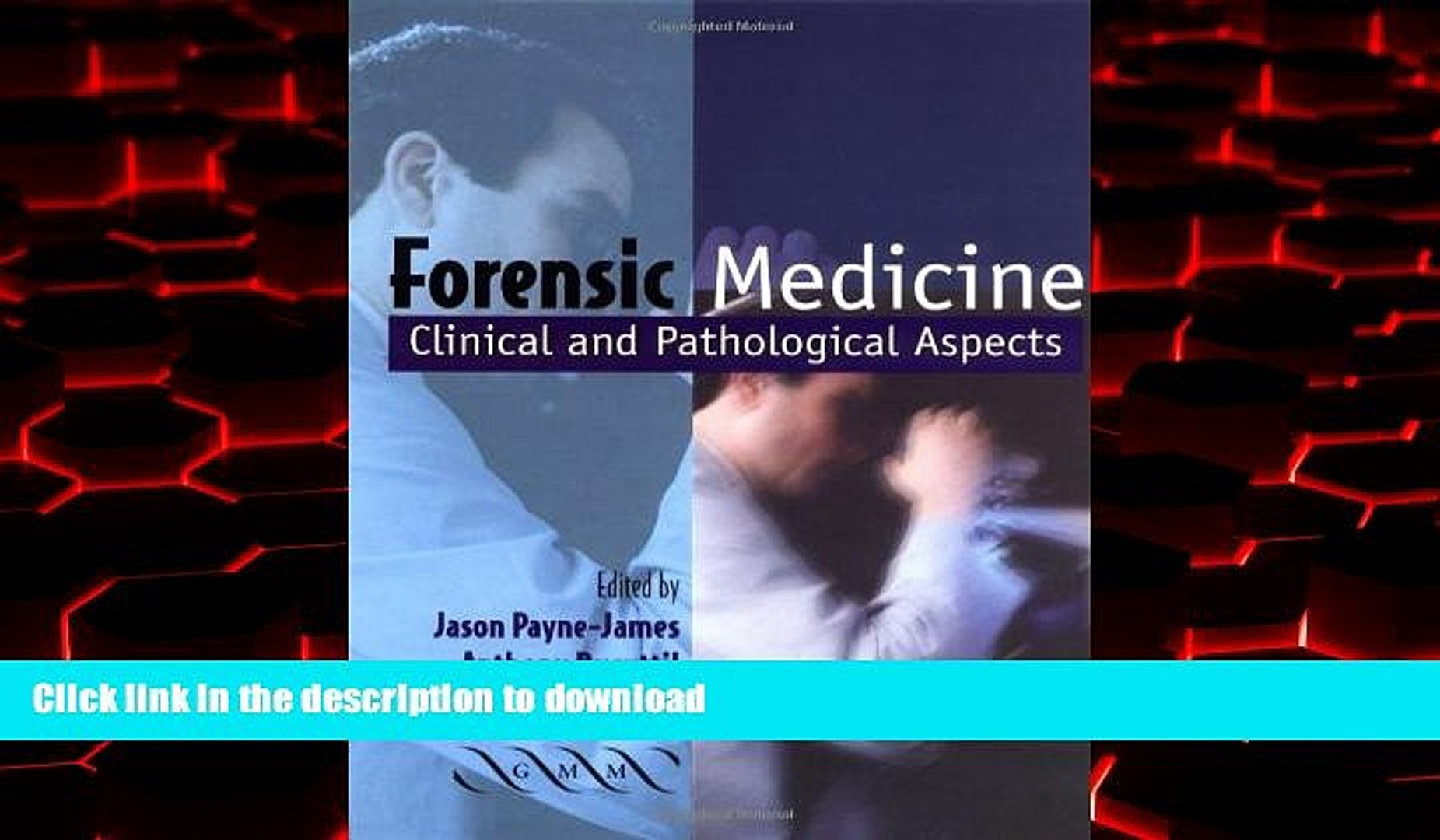 Buy Books Forensic Medicine Clinical And Pathological Aspects Online To Buy Video Dailymotion