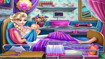Frozen Elsa Birth Caring: Disney princess Frozen - Best Baby Games For Girls
