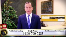 Florida Personal Injury Lawyers   800-700-7285   The Law offices of Paul K. Schrier, PLLC
