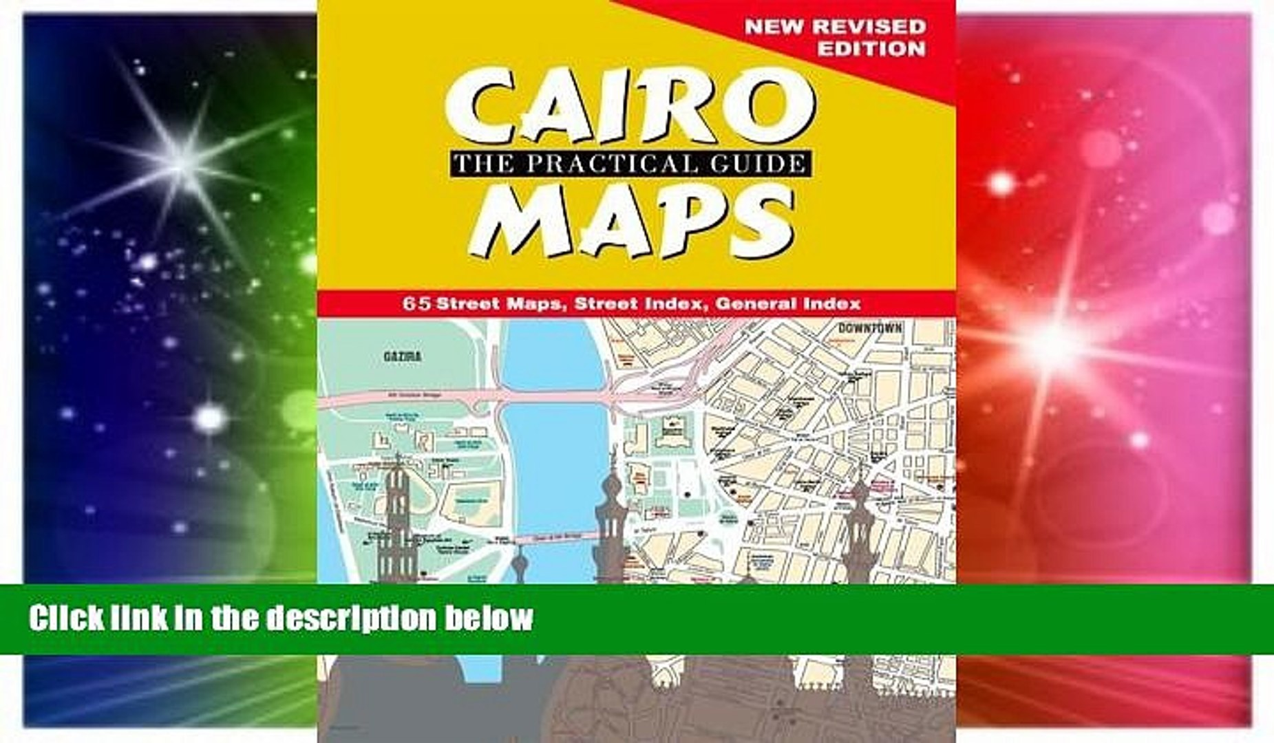 Cairo, the practical guide map: buy online at best price in egypt.