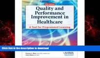 Buy books  Quality and Performance Improvement in Healthcare, 5th ed.