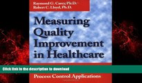 Buy book  Measuring Quality Improvement in Healthcare: A Guide to Statistical Process Control
