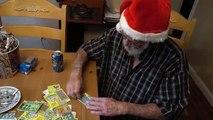 ANGRY GRANDPA WINS THE LOTTERY!! (CHRISTMAS PRANK)