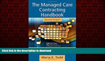 Best books  The Managed Care Contracting Handbook, 2nd Edition: Planning   Negotiating the Managed
