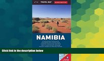 Ebook Best Deals  Namibia Travel Map (Globetrotter Travel Map)  Most Wanted