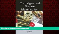 Best books  Cartridges and Firearm Identification (Advances in Materials Science and Engineering)