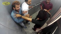 People Trapped With Killers In Lift – Caught On CCTV