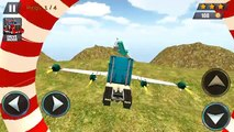 Modern Flying Truck Sim 3D - Android Gameplay HD