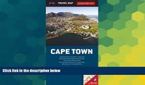 Must Have  Cape Town Travel Map (Globetrotter Travel Map)  Buy Now