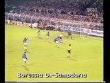 17.10.1989 - 1989-1990 UEFA Cup Winners' Cup 2nd Round 1st Leg Borussia Dortmund 1-1 UC Sampdoria