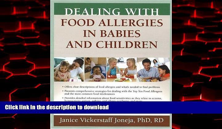 Buy book  Dealing with Food Allergies in Babies and Children online to buy
