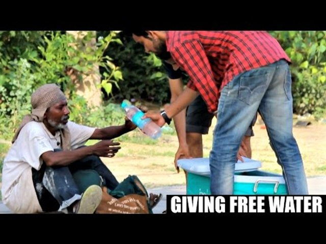 Giving Free Water in INDIA | AVRprankTV