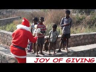 Santa Claus Surprises Homeless Kids In India  - iDiOTUBE