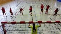 Flashmob UNSS Hombourg-haut pour le Mondial de Handball 2017