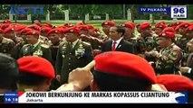 Jokowi Berkunjung ke Markas Kopassus Cijantung