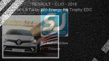 Annonce Occasion Renault Clio IV 1.6 Turbo 220 Energy RS Trophy EDC