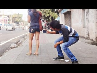 Making MMS of Girl in Public - Funk You (Prank in India)