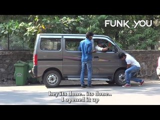 I am Taking Your Car Tire - Prankster Beaten Up! - FUNK YOU (Prank in India)
