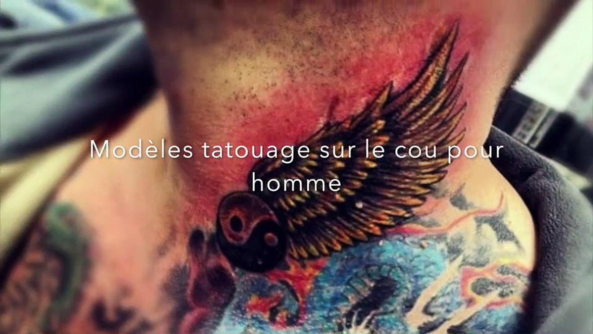 Modeles Tatouage Sur Le Cou Pour Homme Video Dailymotion