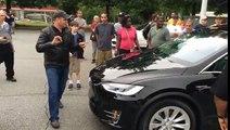 Tesla Model X Released- World's Quickest Suv