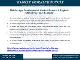 Mobile App Development Market  Challenges, Key Players, Segments, Development, Forecast Report 2022