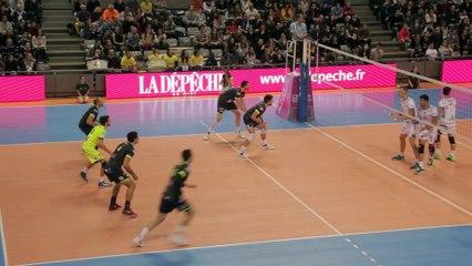 Spacer's Toulouse Volley vs Tours Volley-Ball 29/10/2016 - le résumé en images