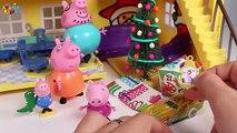 ❤ PEPPA PIG ❤ Regalos de Navidad | Vídeos de juguetes en español