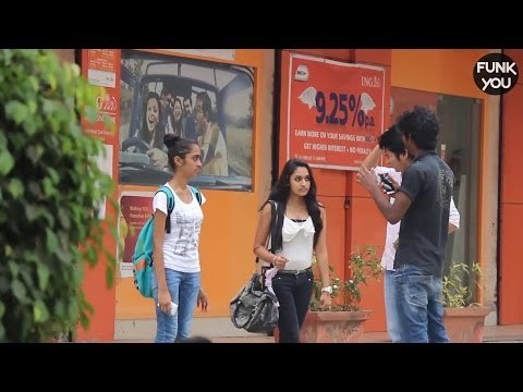 Strange Language with Strangers Prank in India by Funk You!