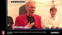 Stupéfiant : Herbert Léonard célèbre la fête du cochon avec le Front National