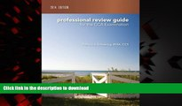 Best books  Professional Review Guide for the CCA Examination, 2014 Edition online