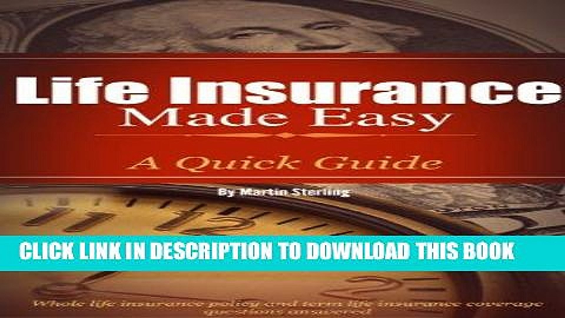 [PDF] Life Insurance Made Easy: A Quick Guide - Whole Life Insurance Policy and Term Life